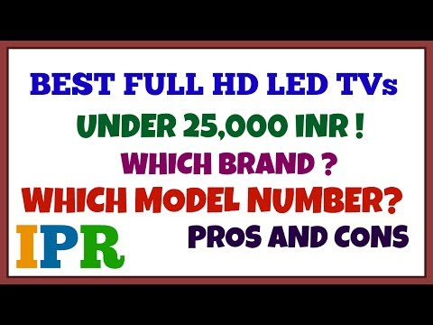 Full HD LED Tv's under Rs.25000 | Indian Product Reviewer