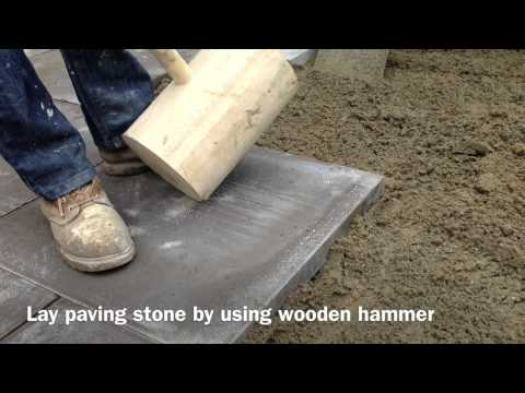 How To Lay Paving  And Pointing Check Out BEFORE AND AFTER!!
