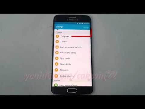 Android Lollipop : How to Enable or Disable Dual Clock Information on Samsung Galaxy S6