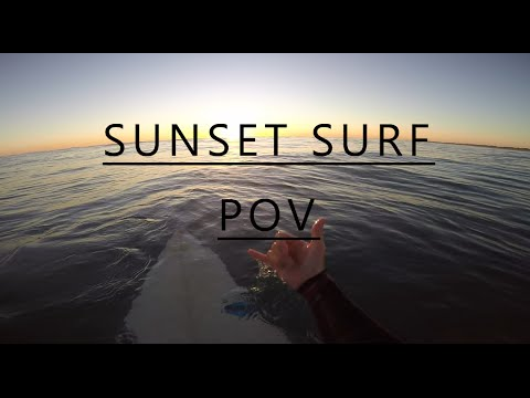 First Person POV Surfing GoPro