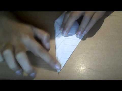 How to make a paper crane-origami