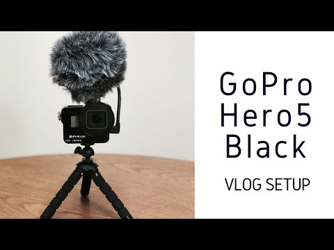 GoPro Hero 5 Vlog Setup - With Rode VideoMicro Compact Microphone