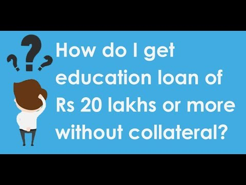 Securing a collateral/ non-collateral education loan for abroad studies
