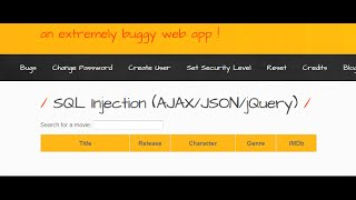 bwapp series part 4 (all sql injection challenge solution