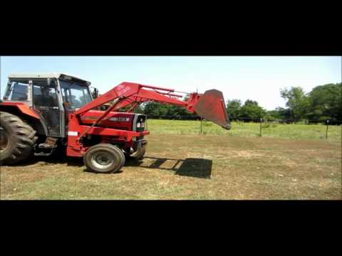 1993 Massey Ferguson 383 tractor for sale | sold at auction July 25, 2012