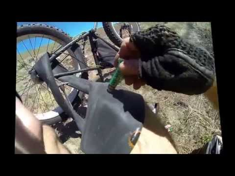 Flat Repair Pinch Flat Snake Bite Repair Fat Bike Patch Kit mountain trail