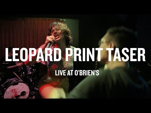 Leopard Print Taser - Live at O'Brien's