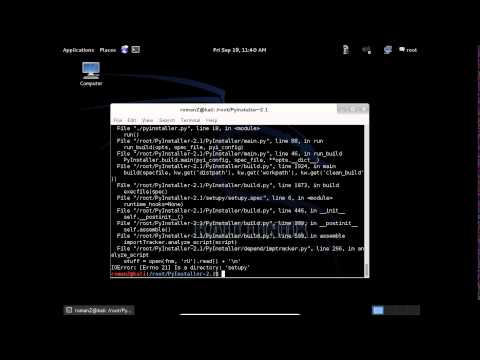 Pyinstaller, The best and the simplest way to compile your python code
