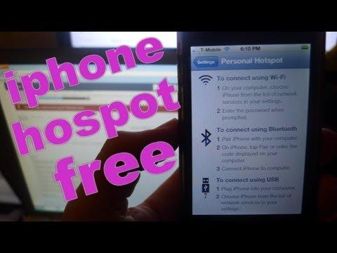 iphone hotspot free no jailbreak required