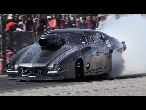 Wide Open Spring National Rivanazzano 2016 - 1/4 Mile Drag Race Show