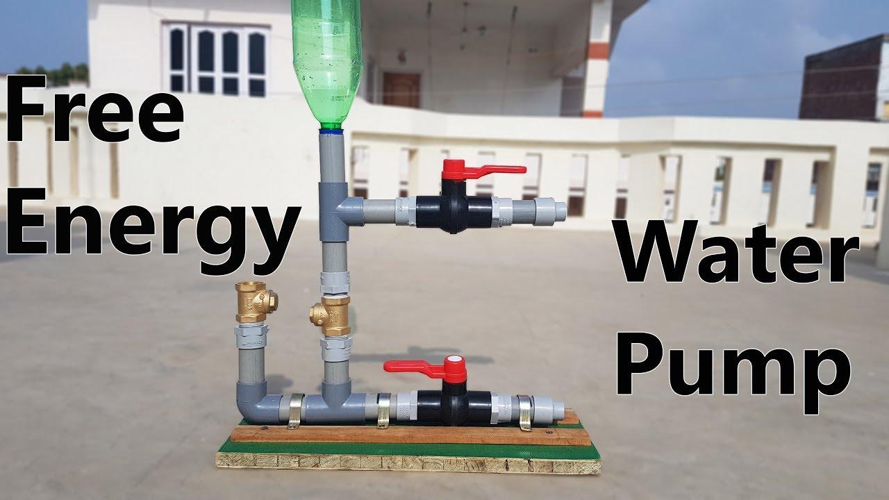 How to Make Free Energy Water Pump - Ram Pump