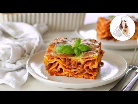 Lasagna Recipe | Recipes by Carina