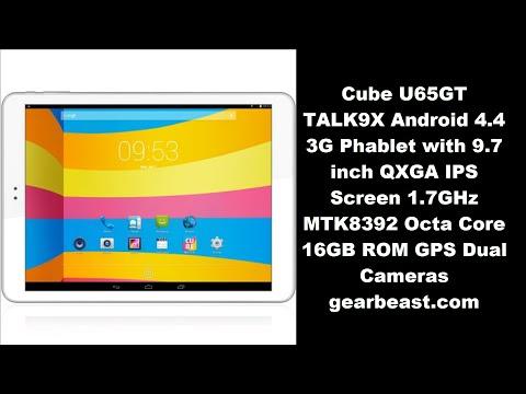 Review Cube U65GT TALK9X Android 4.4, 9.7 QXGA IPS Screen 1.7GHz MTK8392 Octa Core 16GB