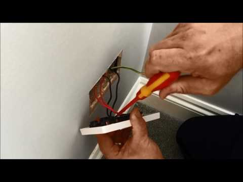 How to Change an Electrical Socket - UK