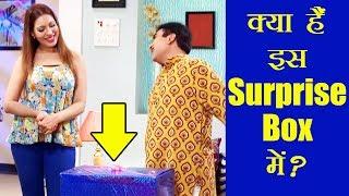 Jethalal give Surprise Gift Box to Babita ji - Taarak Mehta ka Ooltah Chashmah