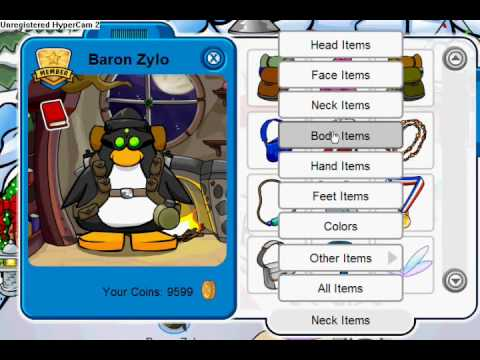 Club Penguin - How to Dress Up Like a Robber