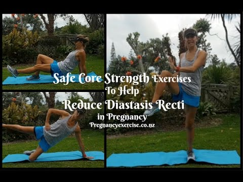Diastsais Recti Exercises For Pregnancy - Safe Core Strength Exercises