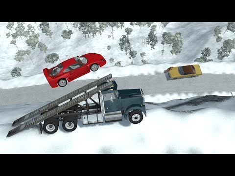 Beamng drive - Crashes from Above 2