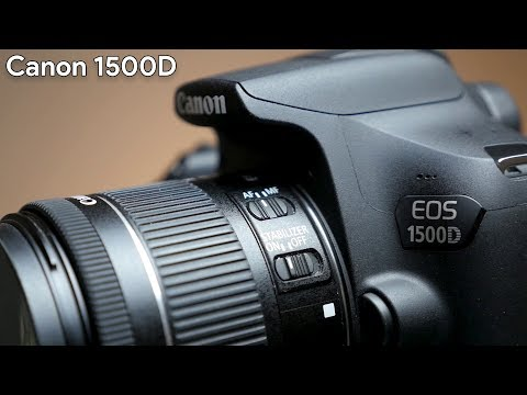 Canon 1500D Quick Hands on!
