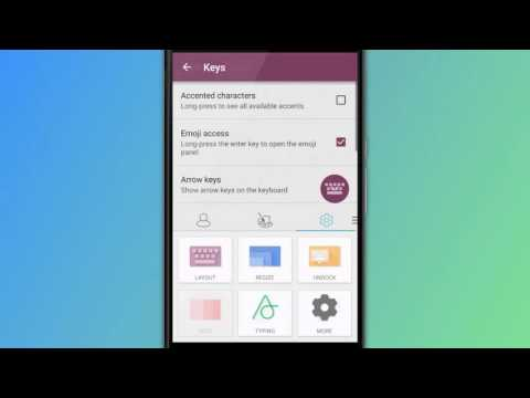 How to access and enable accented characters - SwiftKey Keyboard for Android