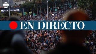 DIRECTO: Disturbios de los CDR en Barcelona