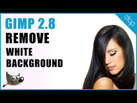 GIMP 2.8 Transparent Background | Remove White Background | Image Editing
