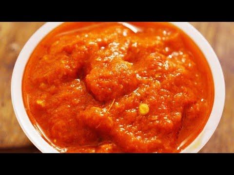 Momos chutney Recipe - How to make Momo Chutney at home | Red Chilli Sauce