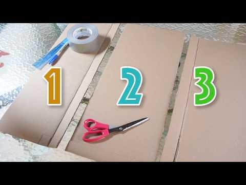 DIY: Easy to use shirt folding board