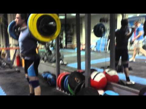 Squat 115kg x20