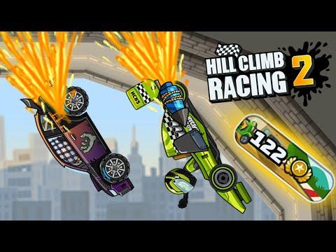 New Downhill Race Event   Hill Climb Racing 2 Gameplay
