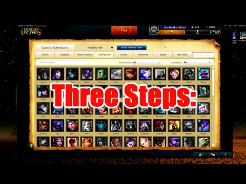 Get Out of Bronze/Silver in League of Legends in Three Steps!