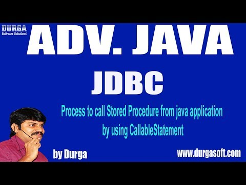 JDBC - 94 ||Process to call Stored Procedure from java application by using CallableStatement