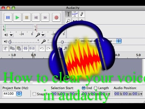 How To Clear Your Voice in Audacity Make it sound better