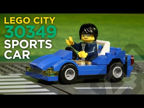 LEGO City 30349 - Sports Car (Polybag) - Stop Motion Build