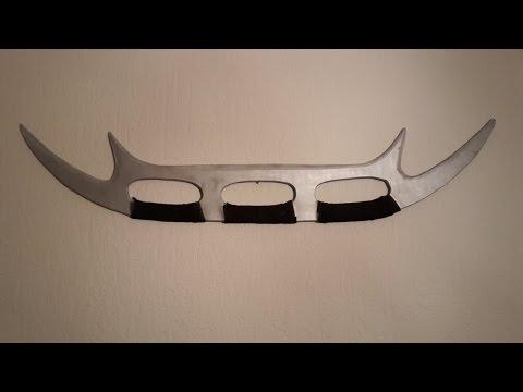 How to make the klingon Bat'leth! - Free templates