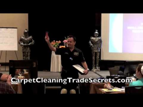 National Carpet Cleaning Training Promo Video