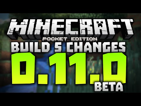 MORE STRUCTURES!!! - 0.11.0 Alpha Build 5 Review - Minecraft PE (Pocket Edition) 0.11.0 Beta