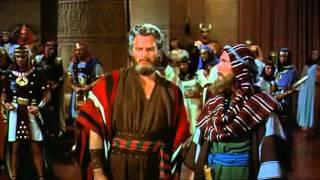 The Ten Commandments   1956 chunk 08  Pharaoh Rameses II Court