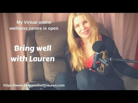 My virtual online wellness centre is now open