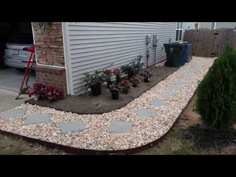 Drainage  Install and walkway