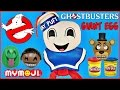 GHOSTBUSTERS STAY PUFT GIANT PLAY DOH SURPRISE EGG MARSHMALLOW MAN