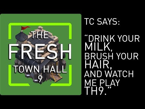 Town Hall 9 Let's Play - STILL NO SPELL FACTORY! - Clash of Clans
