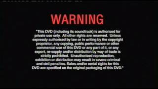 Opening To Finding Nemo Disc 1 2003 Dvd