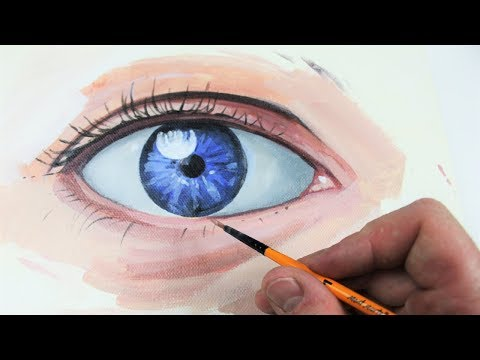 How to Paint an Eye