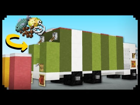 ✔ Minecraft: How to make a Garbage Truck