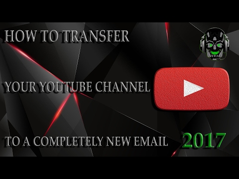 (2018) How To Change The Email Associated With Your Youtube Account (2018)
