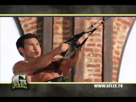 Suspension Training Straps with Pulley System