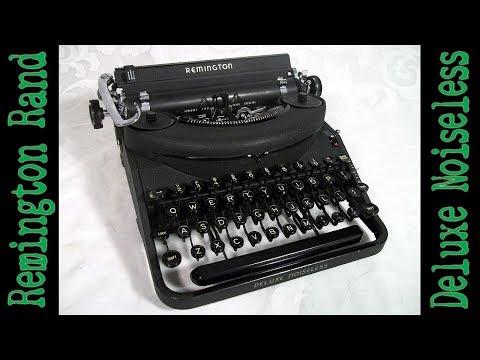 1937 Remington Rand Deluxe Noiseless Typewriter Restoration