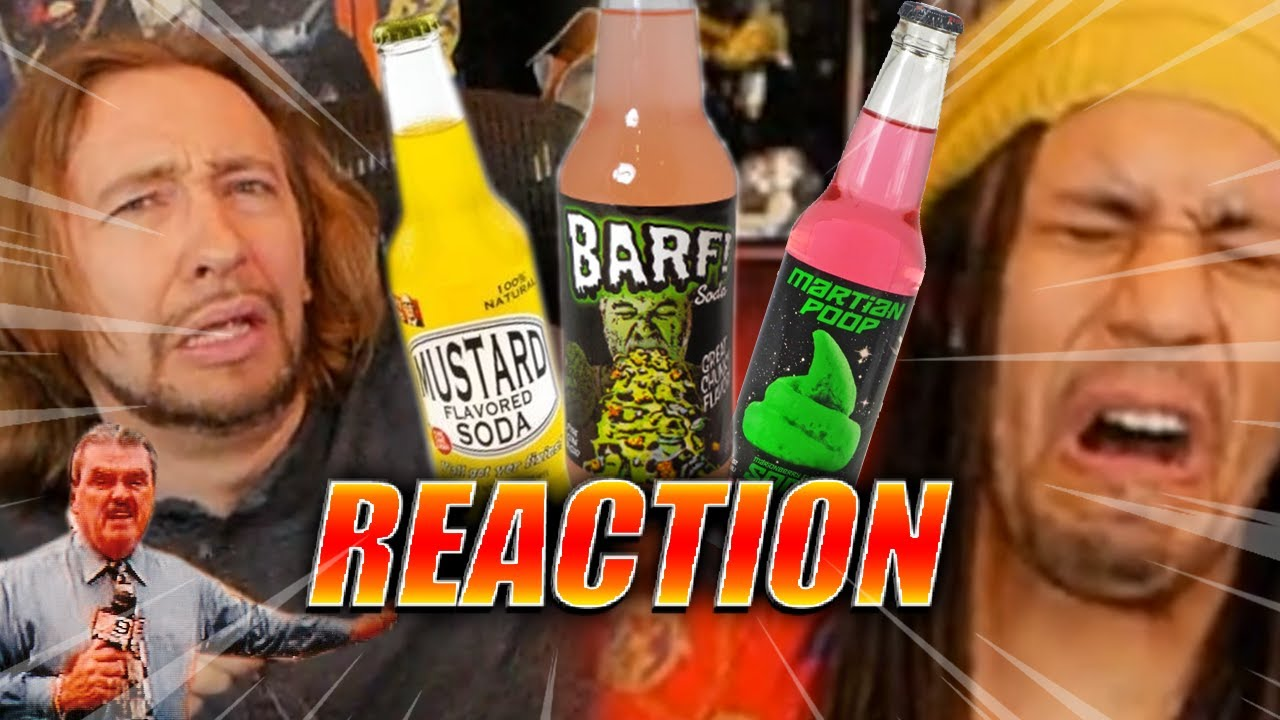 Absolutely Disgusting...Mystery Soda 2020: Mustard, Barf, Martian Poo & More (DOODS REACT)