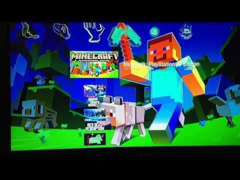 Minecraft PS3 friends help